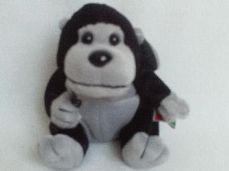 Rare Coca Cola 'Rilly' Gorilla' Rwanda Collectable Plush Toy BNWT